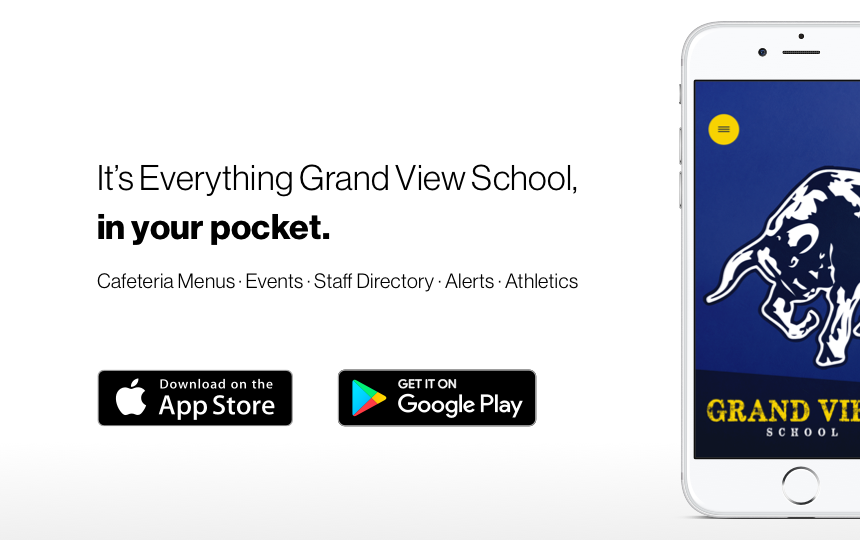 Introducing the Grand View School app