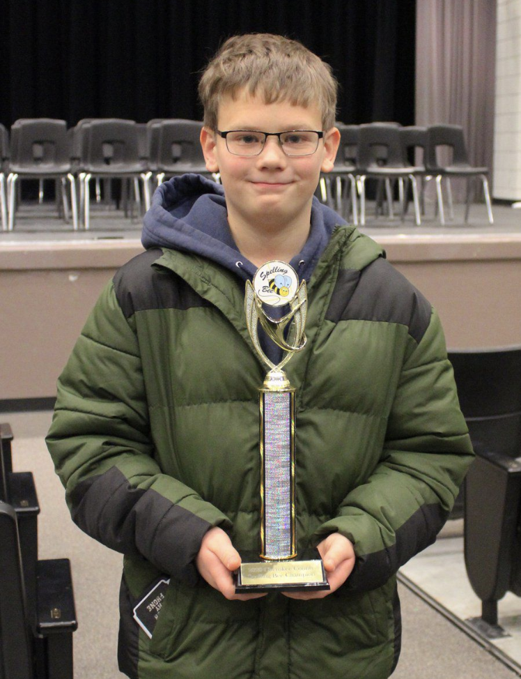 Grand View student wins county spelling bee