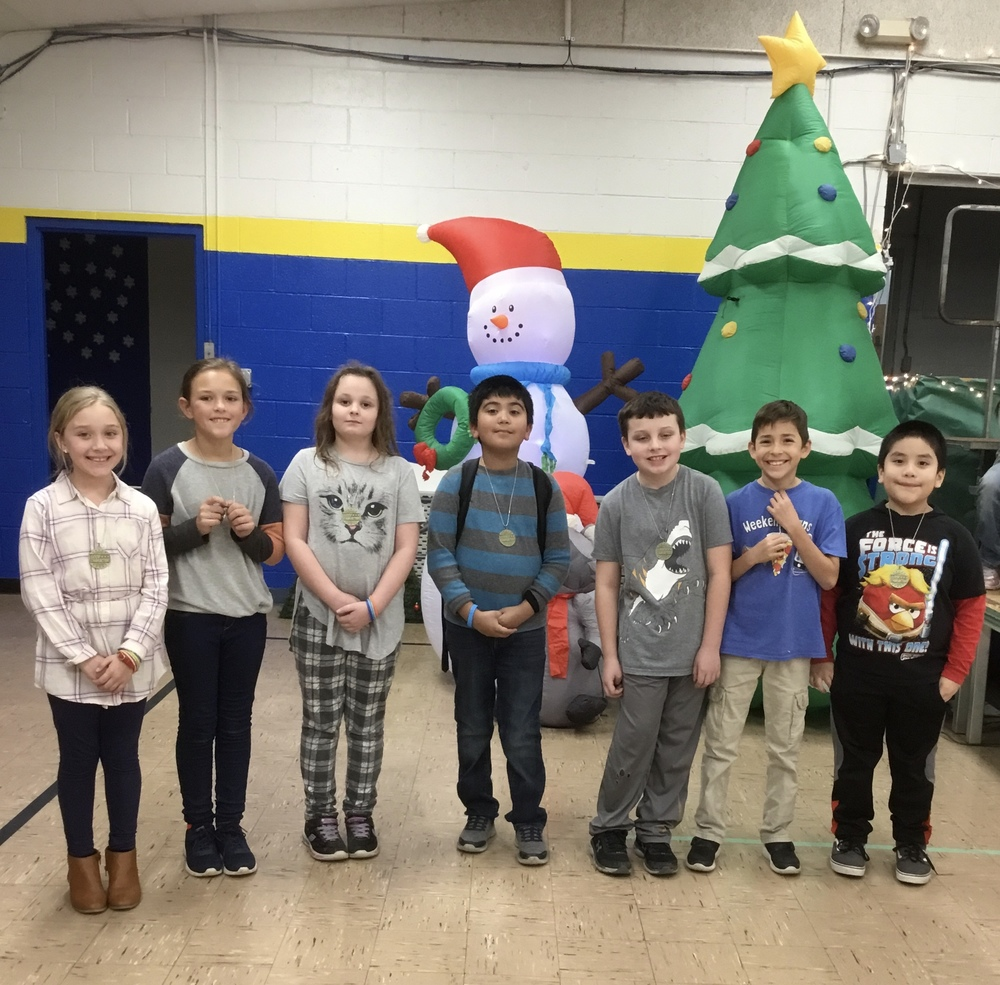 December Charger Character Winners