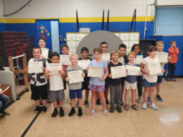 Elementary August Students of the Month