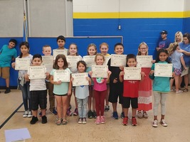 Elementary September Students of the Month